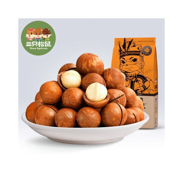 Fruto seco de Hawaiha Three Squirrels 160g