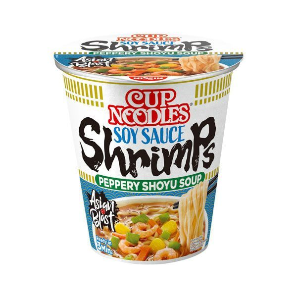 Fideos inst sabor gamba NISSIN CUP 65g